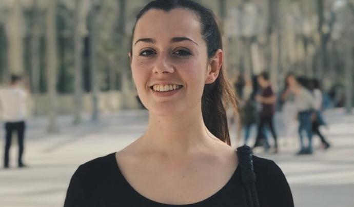 Celia Santos és membre de l'associació Ypung IT Girls que treballa per donar visibilitat a les dones de l'àmbit tecnològic. Font: Celia Santos