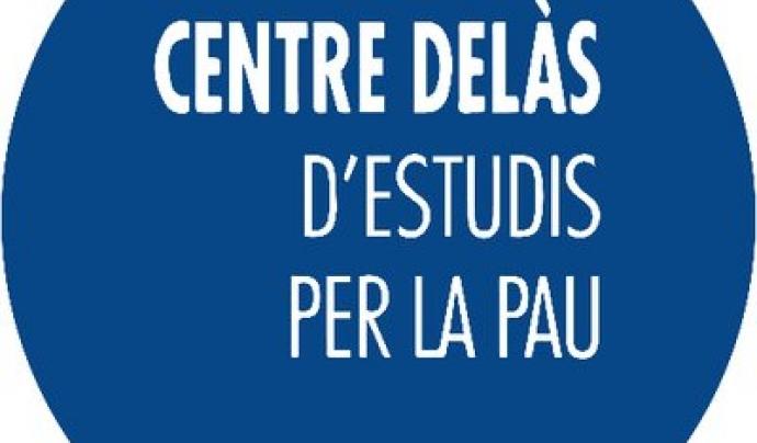 Logo Centre Delàs per la Pau.
