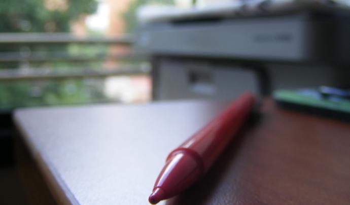 Bolígraf i fotocopiadora