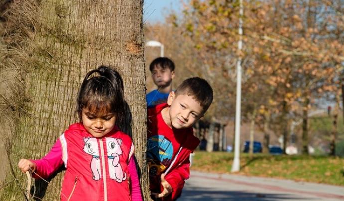 Els infants poden sentir por de sortir al carrer durant el desconfinament. Font: Pixabay
