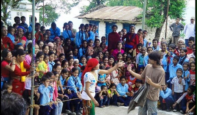Projecte dut a terme per Children Nepal. Font: Children Nepal