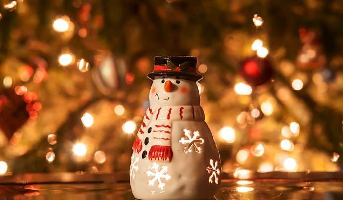 Ninot de neu. Font: Wikimedia