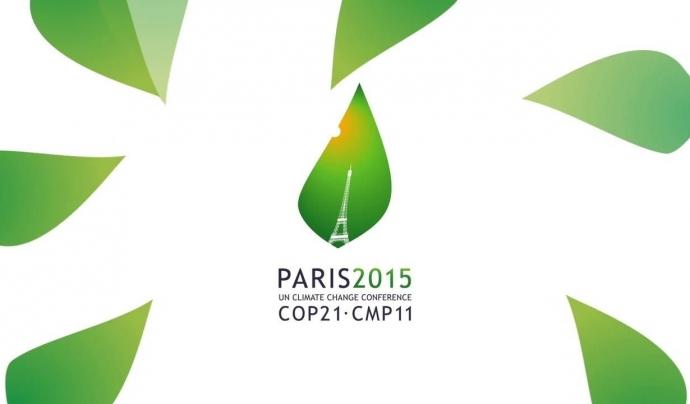 Cimera pel Canvi Climàtic de Paris 2015. Font: Youtube