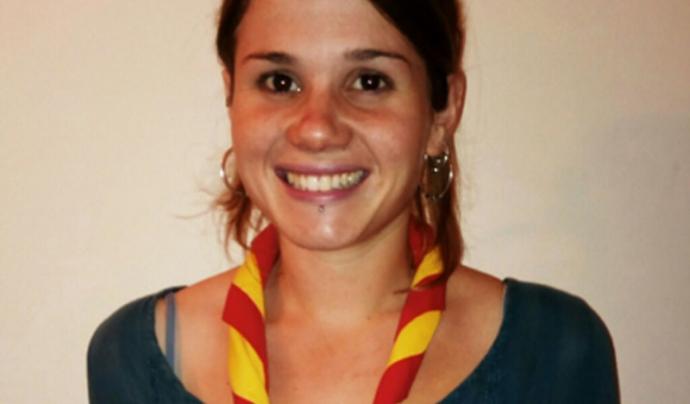 Clara Maristany, membre de l'Àmbit de Participació Infantil i Juvenil de MEG