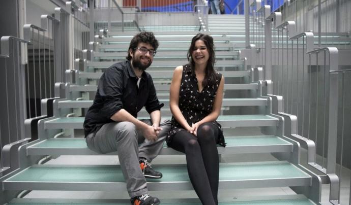 Julio Montes i Clara Jiménez, els fundadors de Maldita.es.