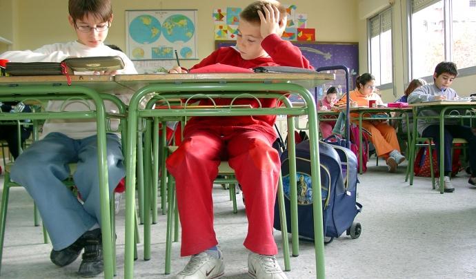 Alumnes a classe - imatge de Clarissa Rodrígues González