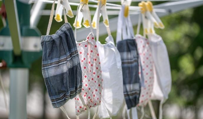 Les mascaretes higièniques reutilitzables són les més recomanades per l'OMS. Font: CC