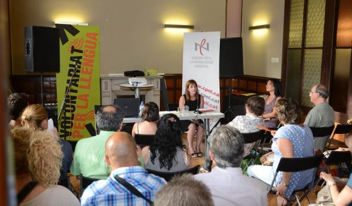 Voluntariat per la Llengua a l'Ateneu Municipal de Rubí (Foto: localpress)