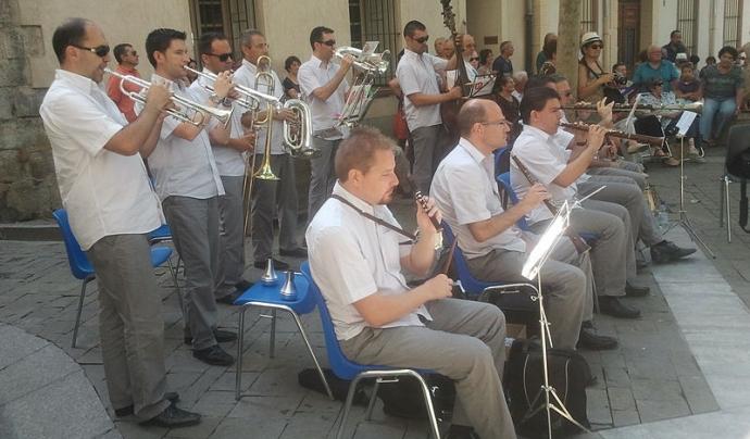 L'Escola de Cobla vol difondre l'estudi dels instruments tradicionals Font: Fabricio Cardenas