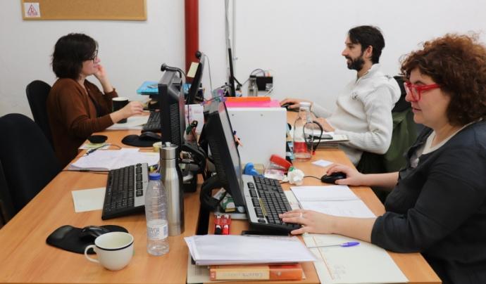 Colectic és una cooperativa d'iniciativa social que ve de la transformació de l'Associació per a Joves Teb. Font: Colectic