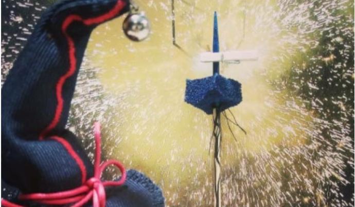 L'exposició sobre la Colla de Diables del Poble-sec se celebra fins al 31 de desembre de 2020. Font: Web de l'Ajuntament de Barcelona.