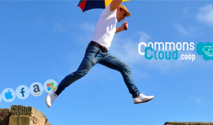Fer el salt cap a una plataforma oberta i col·laborativa no és tant difícil Font: CommonsCloud