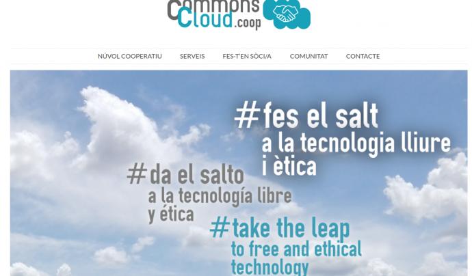 CommonsCloud és un núvol cooperatiu, col·laboratiu i descentralitzat Font: CommonsCloud