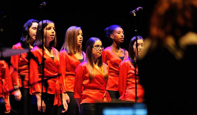 Concert per a la gent gran. Font: Premsa Sant Cugat a Flickr
