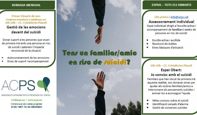 Font: Associació Catalana per la Prevenció del Suïcidi