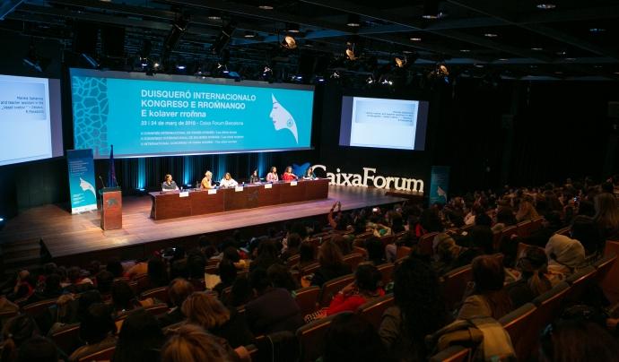 L'entitat realitza nombroses activitats, com el Congrés Internacional de Dones Gitanes. Font: Drom Kotar Mestipen