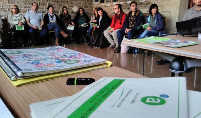 Participació interna a l'Associació Alba.     Font: Associació Alba.