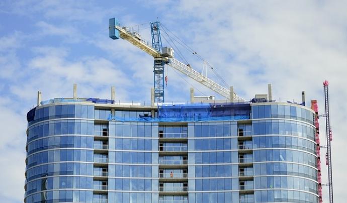 Edifici en construcció
