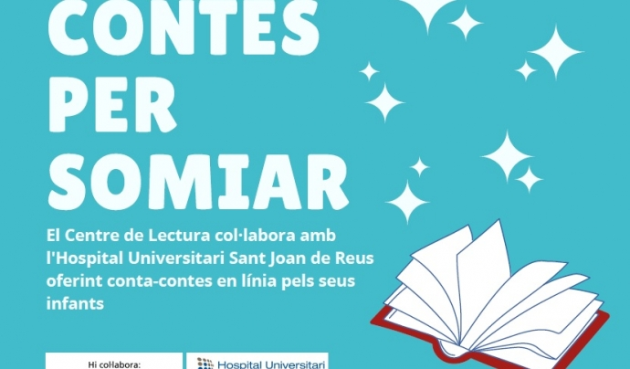 L'activitat, impulsada pel Centre de Lectura de Reus és una col·laboració que es duu a terme amb el suport d'Òptiques Teixidó, de la Institució de les Lletres Catalanes i de la Fundació de l'Obra Social 'la Caixa'. Font: Centre de Lectura de Reus