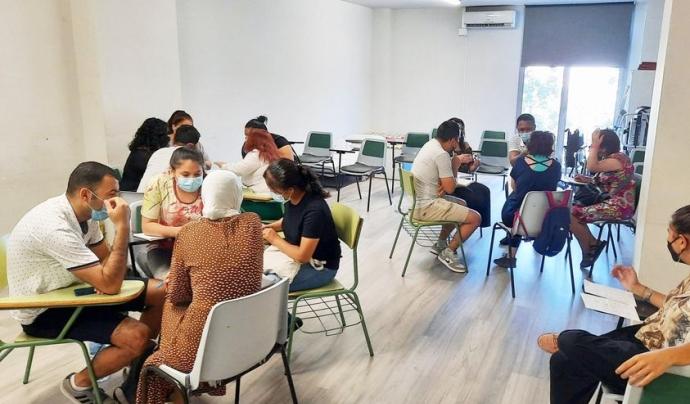 La Fundació Integramenet treballa en l'acollida, l'orientació i la integració de les persones amb risc d'exclusió social. Font: Fundació Integramenet