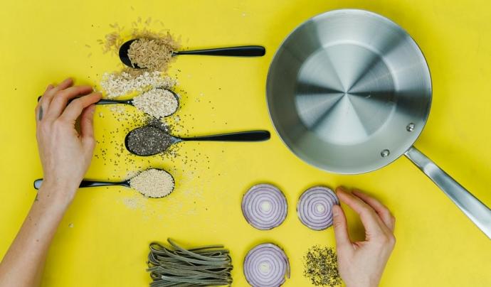 BCN Kitchen ofereix els seus cursos de cuina online de forma gratuïta. Font: Unsplash. Font: Font: Unsplash.