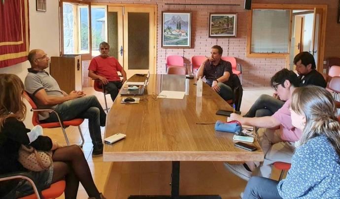Presentació de la Cooperativa Energètica del Pedraforca Font: Ateneu Cooperatiu de la Catalunya Central