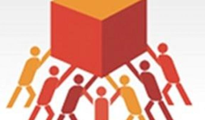 Quadrat aixecat per equip. Font: Universitat Barcelona