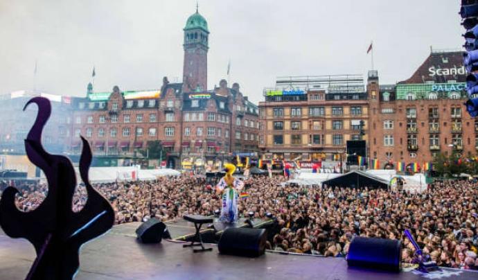 Imatge de la celebració del Pride 2019 a Copenhaguen. Font: Travelgay.com