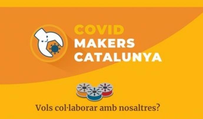 Els 'coronamakers' a Catalunya llencen una crida a la col·laboració per fabricar material d'ajuda i protecció. Font: Covid Makers Catalunya