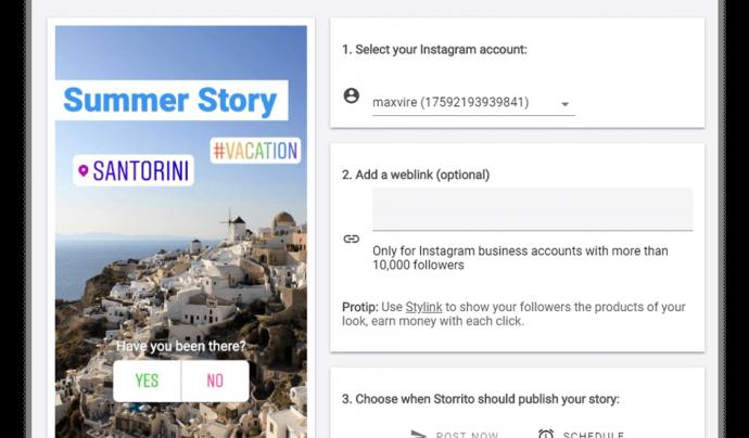 Com crear i editar una història a Storrito? Font: Storrito