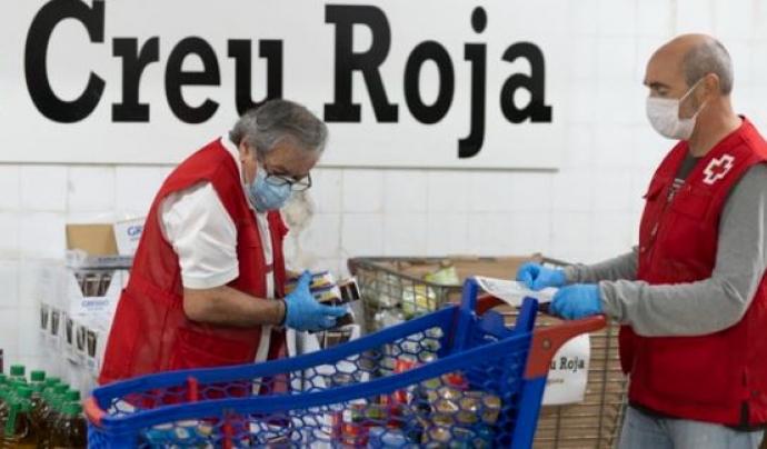 La Creu Roja alerta que hi torna a haver una pobresa nova de persones que mai havien patit aquesta situació d'extrema vulnerabilitat. Font: Creu Roja Catalunya
