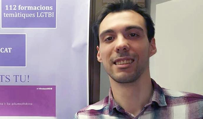 Cristian Carrer, Coordinador Tècnic de l'Observatori contra l'Homofòbia Font: Observatori contra l'Homofòbia