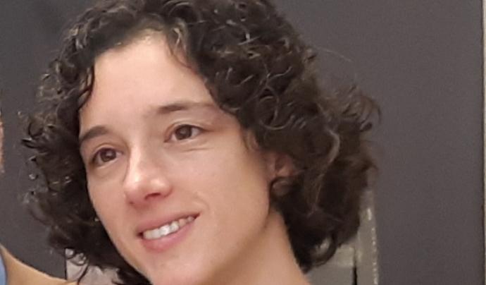 La Cristina Sánchez és la directora de la Coordinadora de Colles Castelleres de Catalunya. Font: Cristina Sánchez Font: Cristina Sánchez