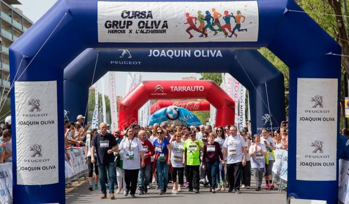 La Cursa Grup Oliva recorrerà el centre de Reus. Font: Grup Oliva