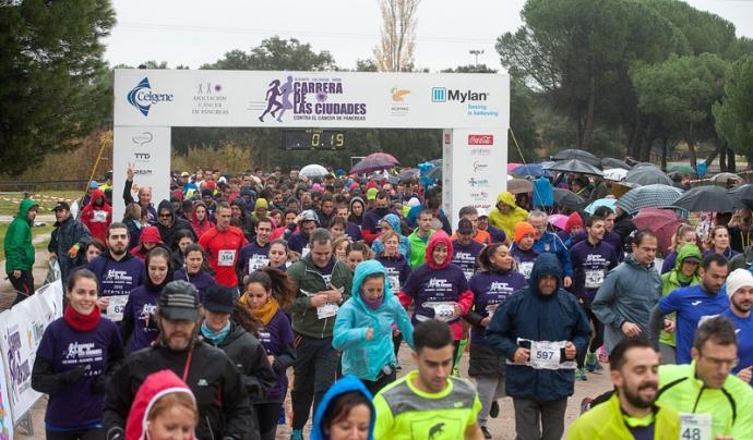 La tercera edició de la cursa, al 2016, es va fer simultàniament a Madrid, Alacant i Roma