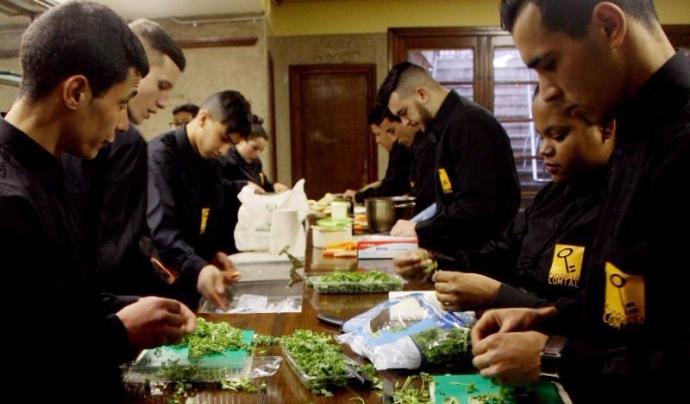 La cuina es troba entre les formacions laborals que ofereix la Fundació Comtal Font: Fundació Comtal