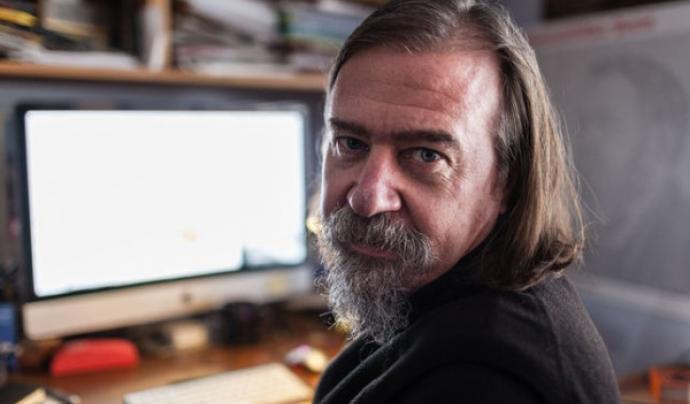 Daniel Raventós, doctor en Ciències Econòmiques i president de la Xarxa Renda Bàsica.  Font: Enric Català