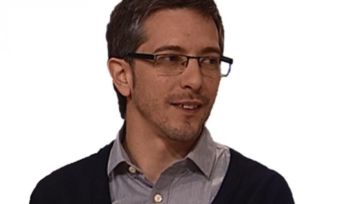 David Franquesa és el director d'Electronic Reuse Font: David Franquesa