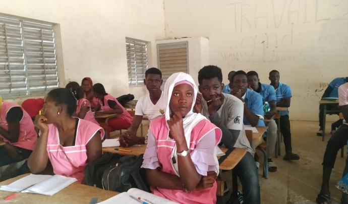 El somni dels joves de Niaga és tenir un institut a la seva ciutat. Font: Base-A