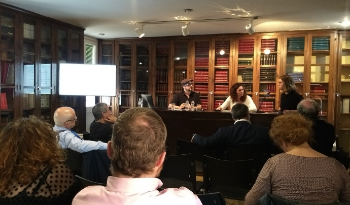 Presentació del 'Manifest per una nova cultura digital' Font: Colectic