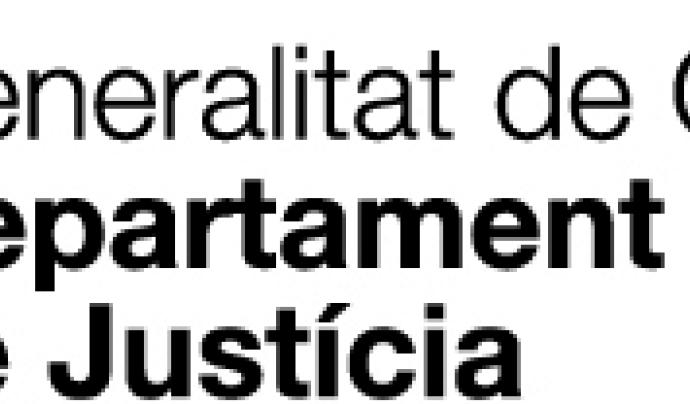 Logotip Departament de Justícia