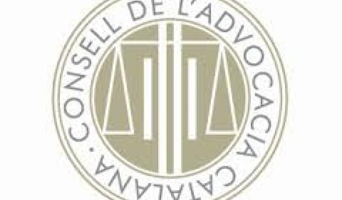El logotip del Consell de l'Advocacia Catalana Font: Consell de l'Advocacia Catalana