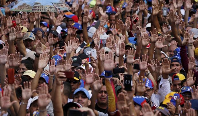 En quatre anys s'ha produit un èxode massiu de població veneçolana a Catalunya Font: sputniknews.com