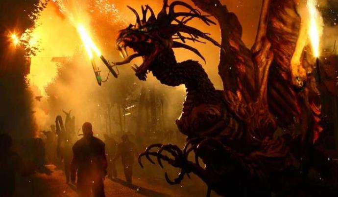 Imatge dels Diables d'Igualada