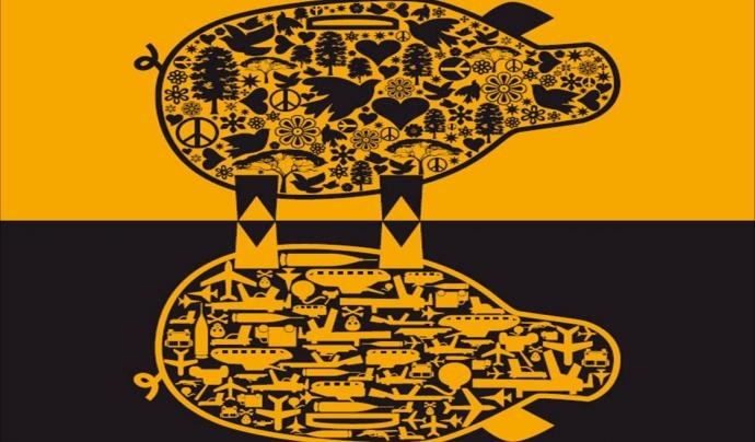 Identitat visual del blog 'Diners a contrallum'. Font: Grup Ecos