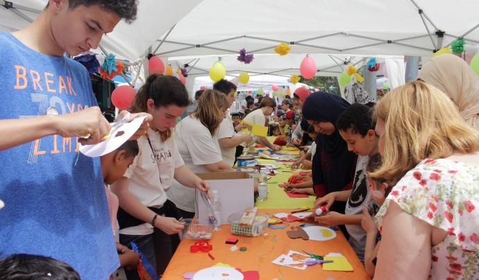 La jornada matinal comptarà amb diferents espais on desenvolupar activitats per a tota la família. Font: Fundació Salut Alta. Font: Font: Fundació Salut Alta.