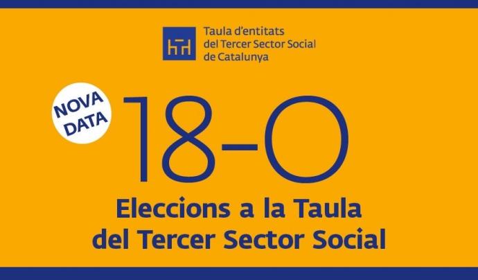 El pròxim 10 d'octubre s'escolliran els membres de la nova Junta de la Taula del Tercer Sector.