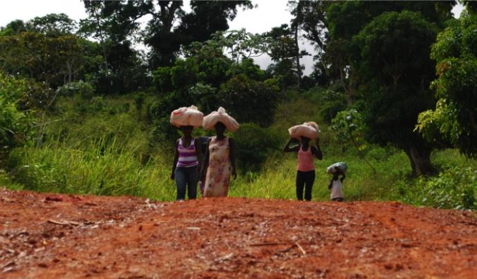 grup de dones camperoles haitianes Font: Endavant Haití