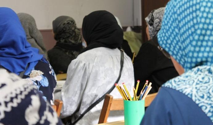 Formació per a persones migrades Font: Fundació La Vinya