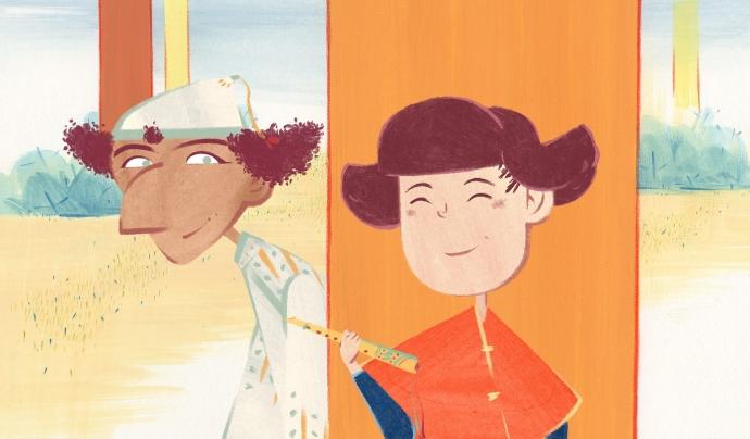 La pel·lícula infantil 'El vent entre les canyes' proposa una revisió dels contes clàssics amb cinc curtmetratges sobre la llibertat protagonitzats per heroïnes. Font: Drac Màgic. Font: Font: Drac Màgic.